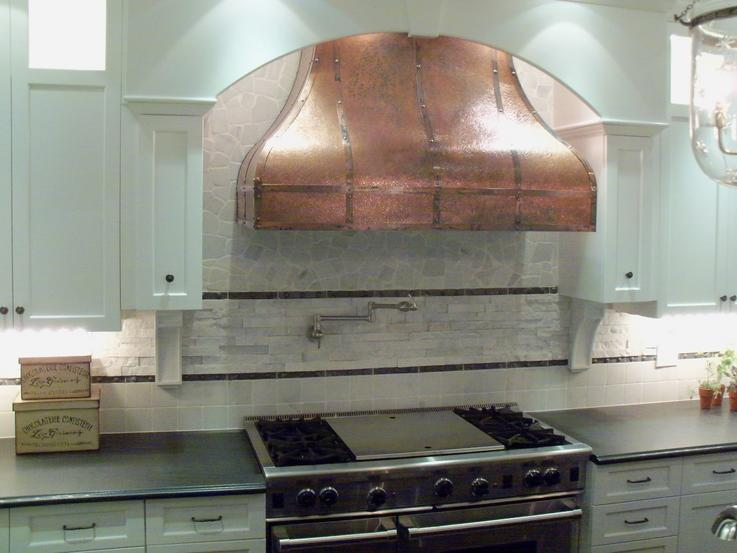 Final installation in a residential kitchen.